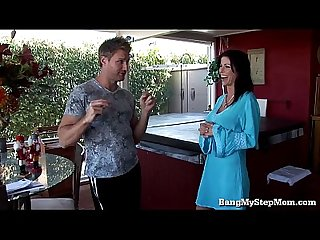 Taboo passion with irresistible stepmom