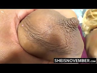 White man cheating on wife with young ebony msnovember rub big tits ass pussy