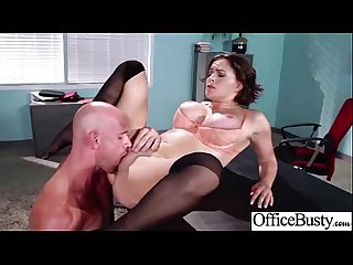 Office Sex Tape With Big Melon Boobs Girl (krissy lynn) video-21