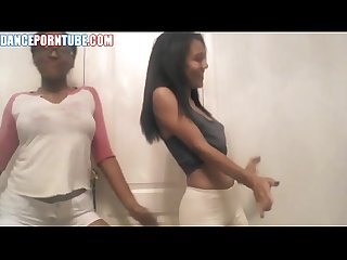 black teen yoga pants dance