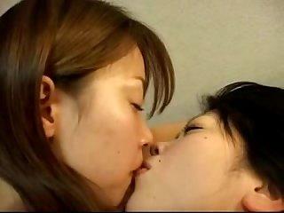 Asian girls in lesbian orgy