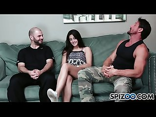 Spizoo beatiful natalie Monroe loves to fuck a huge dick