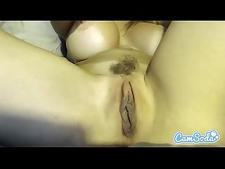 Alexis fawx big tits milf rubbing her pussy until massive wet orgasm