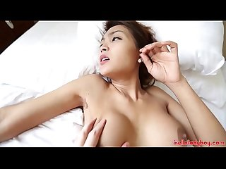 Hello ladyboy two sexy thai ladyboys get fucked by white tourist
