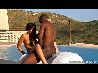 Ebony Couple From Exotic Africa