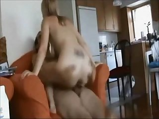 Cheating wife ass fucked on real homemade
