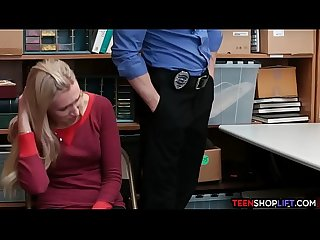 Stepdaughter fucks for her shoplifting moms freedom