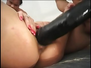 Phyllisha Anne gets the hard-core fucking of her life when me and Sledge Hammer pound her every..