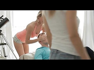 Hot legal age teenager massaged and screwed
