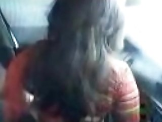 Indian girl in car with boyfriend watch full video on indiansxvideo com