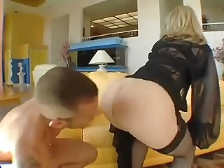 Fuckbunker com nina hartley milf fucks young man