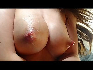 Teen milking big tits for sweet milk --www.myclearsky.live--