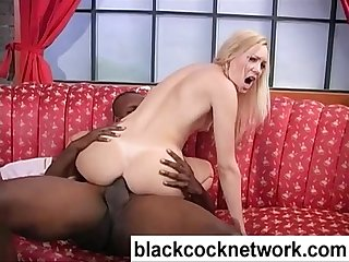 Soft skinned blonde anal rides bbc