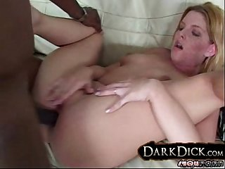 Candi apples anal interracial fucking
