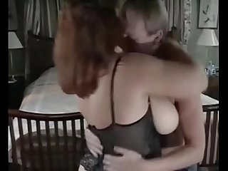 Vintage big tits step mom hardcore