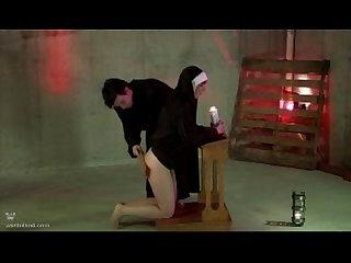 Spanked nun