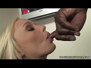 Molly Rae Getting Her First Big Black Cock - Gloryhole