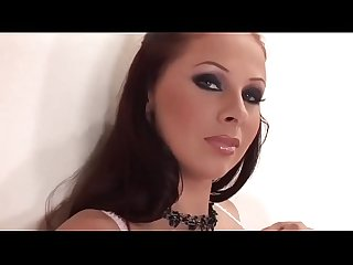 Thick Brunette Gianna Michaels with Tits and Ass in Hot Lingerie