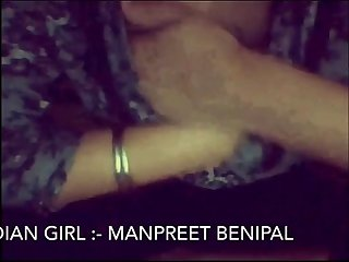 Desi Punjabi Girl Manpreet Showing Herself on Cam