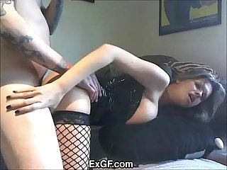EXGF Fuck Me in My Leather