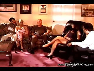 Interracial BBC Swinger party With MILFs