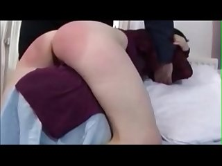 Wifes cunt gets swollen and wet when fanny spanked creamza com