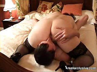Karin rubbing her pussy and big ass on my face