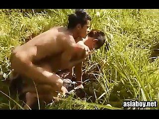 Gays amadores no matagal
