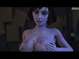 Demon Elizabeth Drains Your Life And Soul With Her Tits by Redmoa
