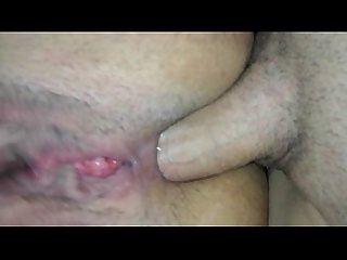 Linda esposa adora en sexo anal conmigo