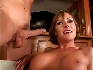 Slutty and cute milf picked up and wildly banged