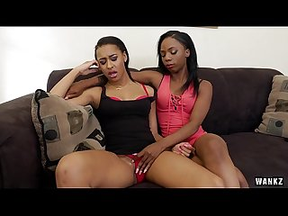 Hot black lesbians sure do know how to please each other