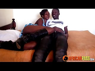 African Booty In Homemade Porn