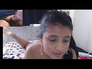18 year old latina plays with dildo on cam www freelivecam69 com
