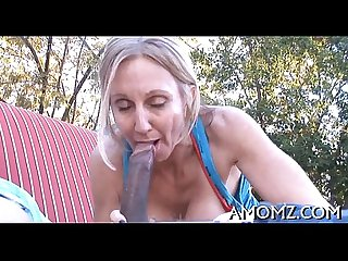 Licking and fucking sexy mamma