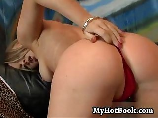 The gorgeous long blonde haired pornstar Amber p