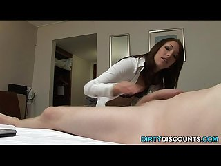 Dick sucking domina sperm