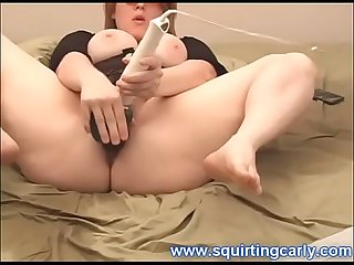 Squirting Carly 8 May 06 Part 2 - Best Huge Squirter w Big Natural Boobies BBW - Zamodels.com
