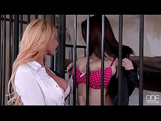 Big titty sluts Lucie wilde and kyra hot lesbian Playtime