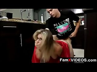 Stepson forced mom in kitchen part 3 free mom tube Videos at famxvideos period com