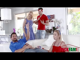 Sarah Vandella, Zoey parker In I Pledge Allegiance To My Father Figures Cock