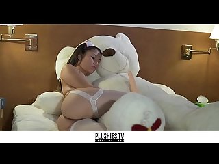 [Plushies.TV] Native american petite nurse sex with a sick teddy bear