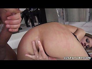 Rebecca volpetti has gaping asshole