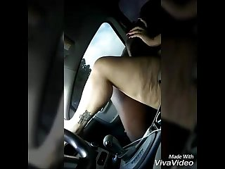 Car sex amateur latina big booty