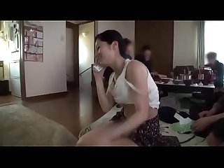 Japanese milf has a harmonious sex with a group of young men pt2 on hdmilfcam com