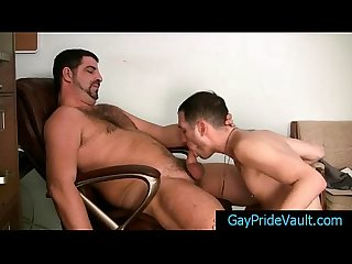 bear getting his gay tube sucked hard By Gaypridevault
