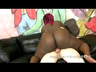 Big black assed woman fucked by vanilla dick