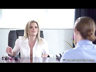 Dirty Milf Boss Cory Chase Fucked In Her Ass By Employee