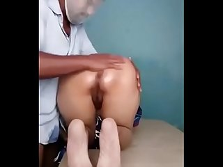 Indian wife fucked in massage parlour by massage boy