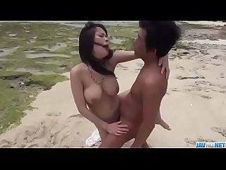 Kyouko Maki, big tits Asian hottie, enjoys outdoor sex - More at javhd.net